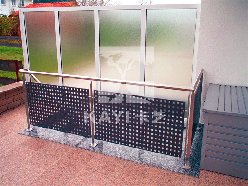Perforated Metal Fence Panel