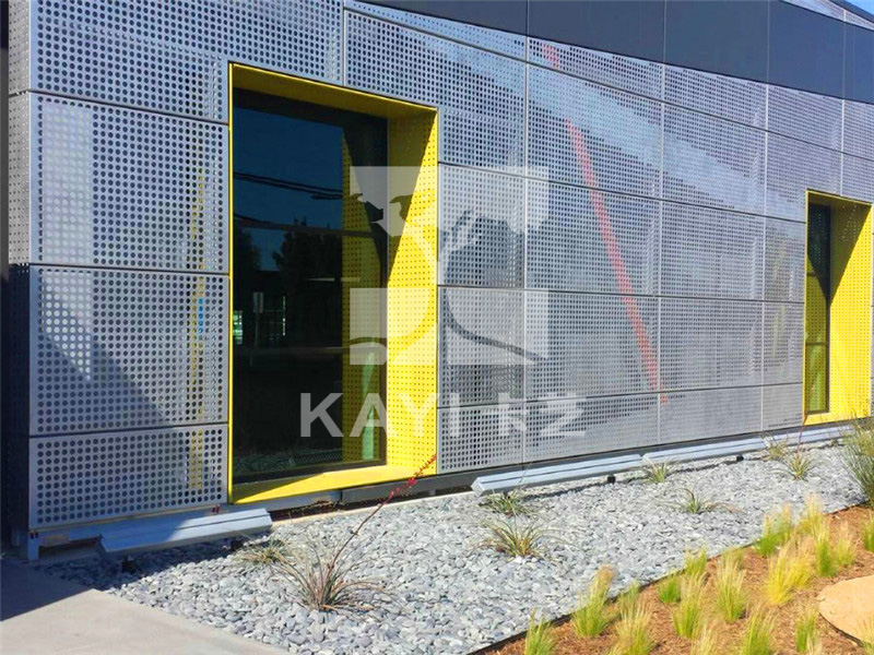 Perforated Metal Facade
